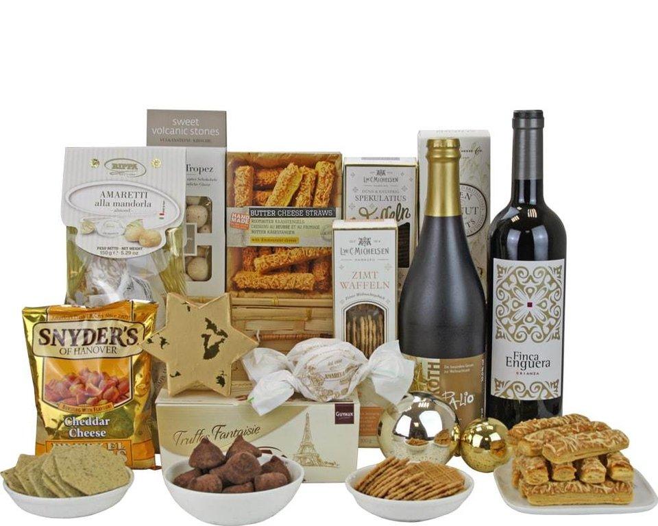 Geschenkkorb Goldene Weihnachten | online bestellen