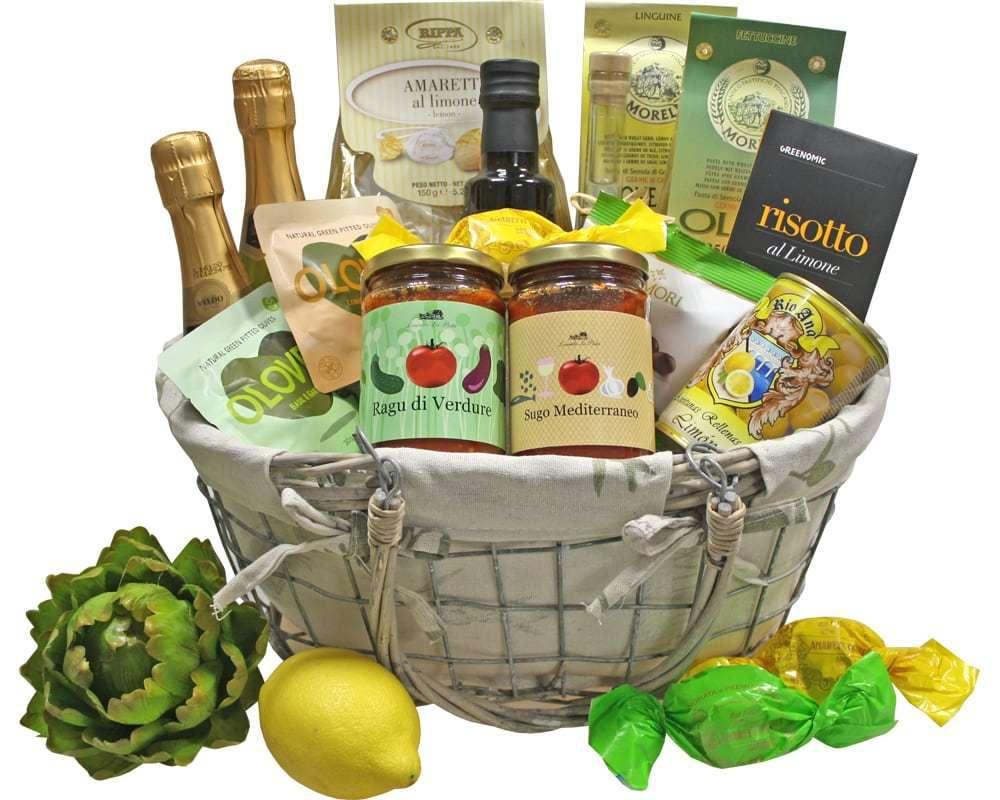 Limone italienische Spezialitäten | Geschenkkorb Welt