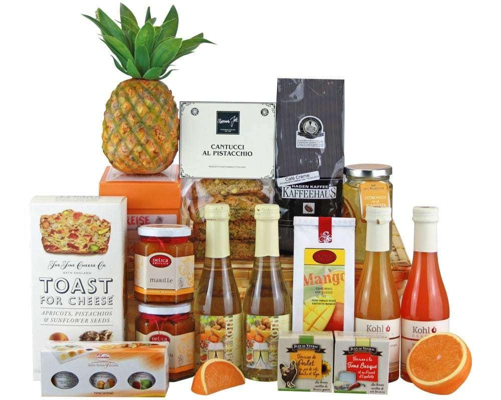 Fruchtiges Frühstück Präsentkorb | Geschenkkorb Welt