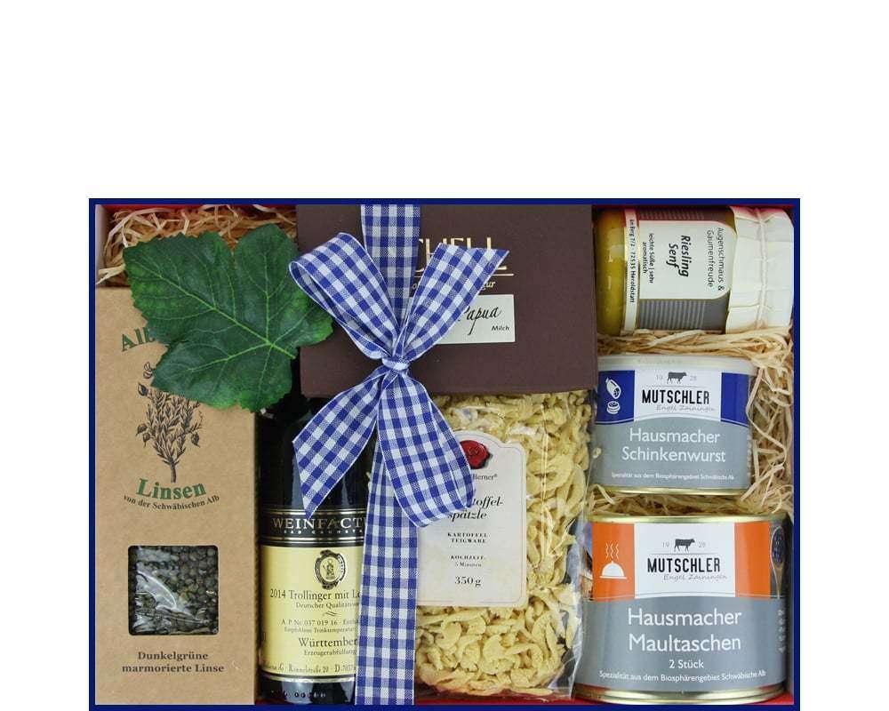 Schwäbische Geschenkkörbe | Spezialitäten Geschenke Korb
