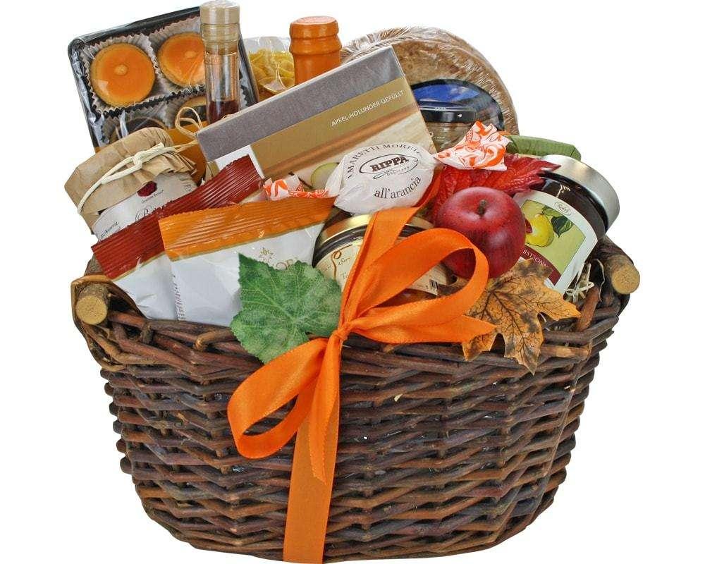 Feinkost Präsentkörbe | feine Delikatessen Geschenkkörbe