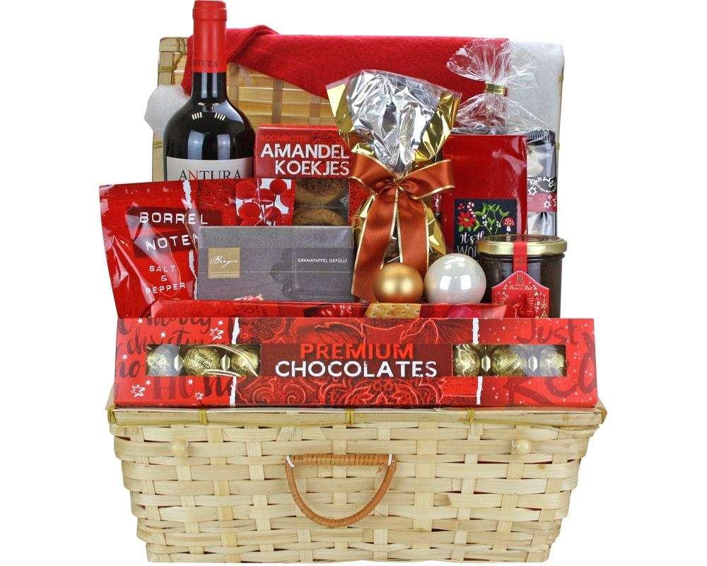 Geschenkkorb Frohe Festtage | online bestellen